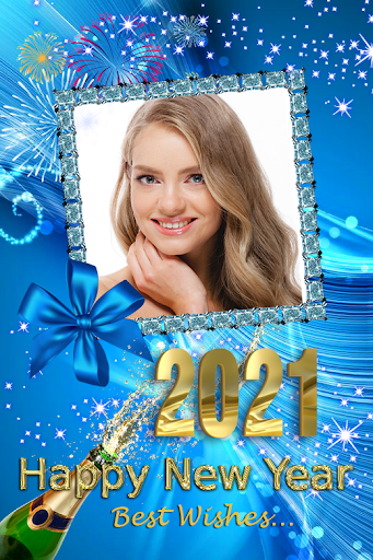 2021 New Year Photo Frames Greeting Wishes v1.0.2 screenshots 10