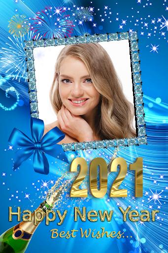 2021 New Year Photo Frames Greeting Wishes v1.0.2 screenshots 5