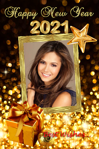 2021 New Year Photo Frames Greeting Wishes v1.0.2 screenshots 6