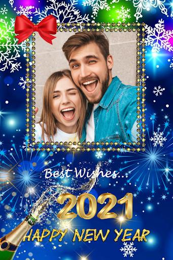 2021 New Year Photo Frames Greeting Wishes v1.0.2 screenshots 7