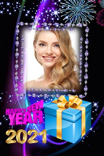 2021 New Year Photo Frames Greeting Wishes v1.0.2 screenshots 8