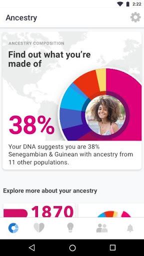 23andMe – DNA Testing Health amp Ancestry v5.94.1 screenshots 1
