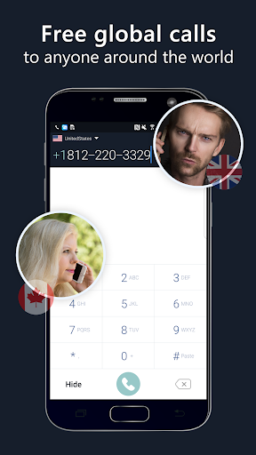 2nd phone number – free private call and texting v1.8.9 screenshots 1