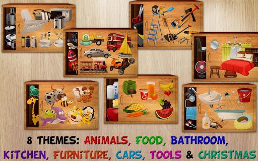 384 Puzzles for Preschool Kids v3.0.1 screenshots 1