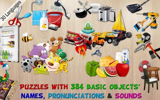 384 Puzzles for Preschool Kids v3.0.1 screenshots 18