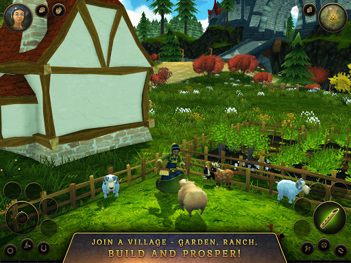 3D MMO Villagers amp Heroes v4.59.2 r56514 screenshots 11