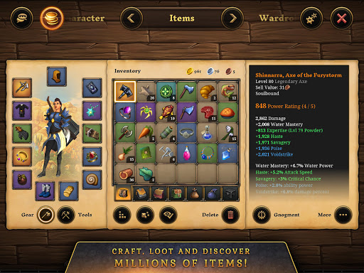 3D MMO Villagers amp Heroes v4.59.2 r56514 screenshots 17
