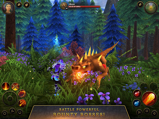 3D MMO Villagers amp Heroes v4.59.2 r56514 screenshots 19