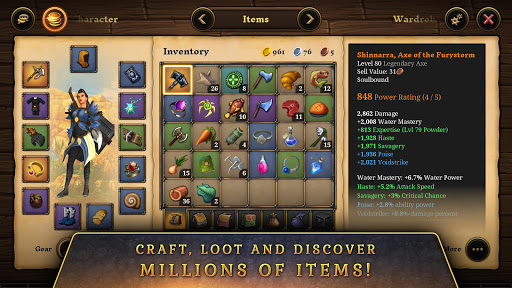 3D MMO Villagers amp Heroes v4.59.2 r56514 screenshots 4