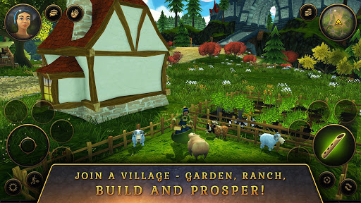 3D MMO Villagers amp Heroes v4.59.2 r56514 screenshots 5