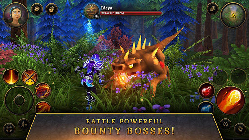 3D MMO Villagers amp Heroes v4.59.2 r56514 screenshots 6