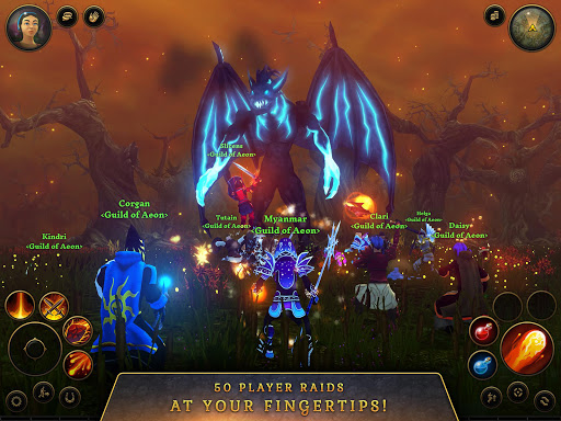 3D MMO Villagers amp Heroes v4.59.2 r56514 screenshots 7