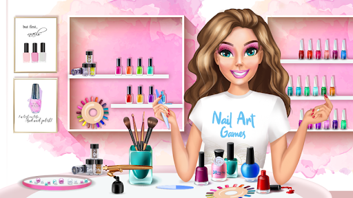 3D Nail Art Games for Girls v3.0 screenshots 1