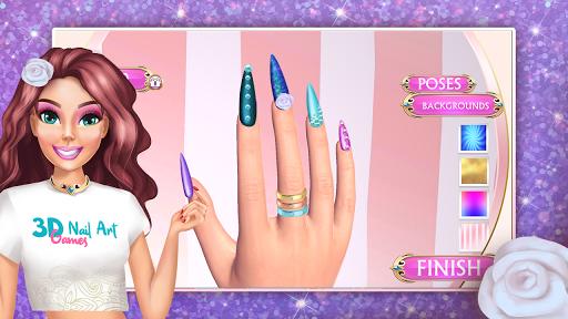 3D Nail Art Games for Girls v3.0 screenshots 2
