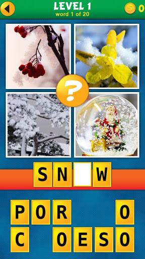 4 Pics 1 Word Puzzle Plus v1.0.10 screenshots 1