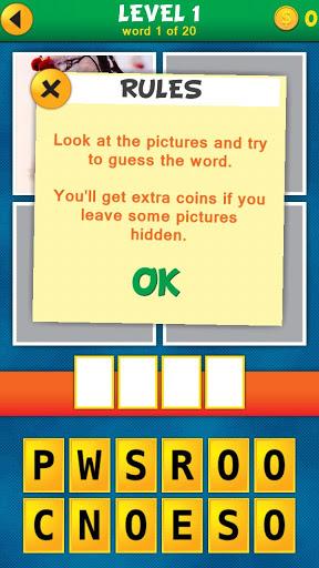 4 Pics 1 Word Puzzle Plus v1.0.10 screenshots 2