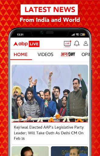 ABP Live TV News Latest India Hindi News channel v10.0.5 screenshots 4