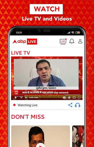 ABP Live TV News Latest India Hindi News channel v10.0.5 screenshots 5
