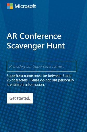AR Conference Scavenger Hunt v2 screenshots 1