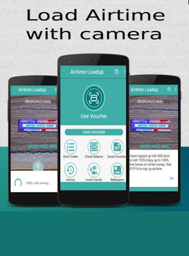Airtime Loadup – Airtime loader amp scanner v1.0.2 screenshots 1