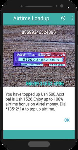 Airtime Loadup – Airtime loader amp scanner v1.0.2 screenshots 2