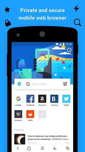 Aloha Browser – private fast browser with free VPN v3.4.1 screenshots 1