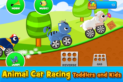 Animal Cars Kids Racing Game v1.6.5 screenshots 1