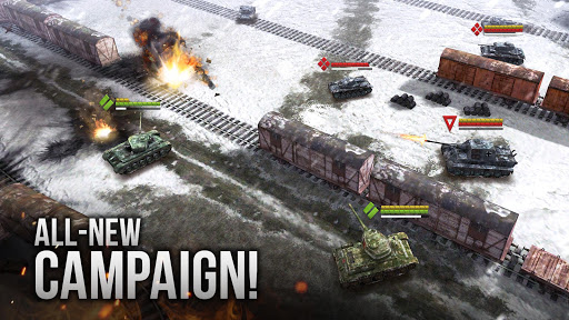 Armor Age Tank Games RTS War Machines Battle v1.17.309 screenshots 1