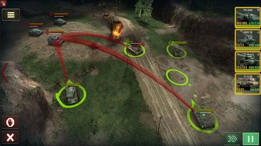 Armor Age Tank Games RTS War Machines Battle v1.17.309 screenshots 14
