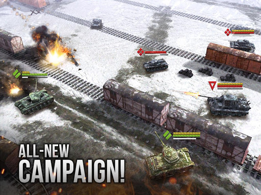 Armor Age Tank Games RTS War Machines Battle v1.17.309 screenshots 15