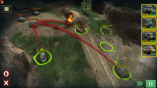Armor Age Tank Games RTS War Machines Battle v1.17.309 screenshots 7