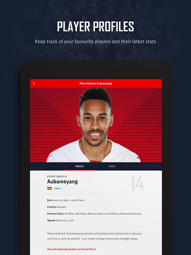 Arsenal Official App v screenshots 10