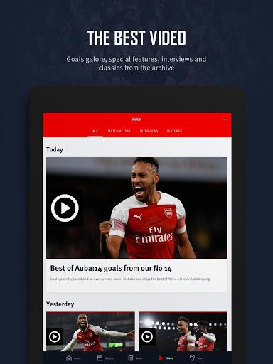 Arsenal Official App v screenshots 11