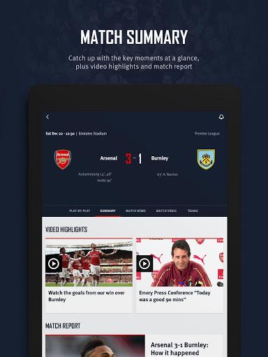 Arsenal Official App v screenshots 12