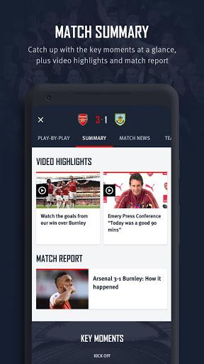 Arsenal Official App v screenshots 4