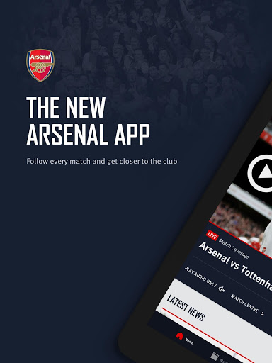 Arsenal Official App v screenshots 5
