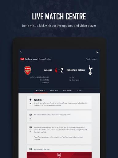 Arsenal Official App v screenshots 7