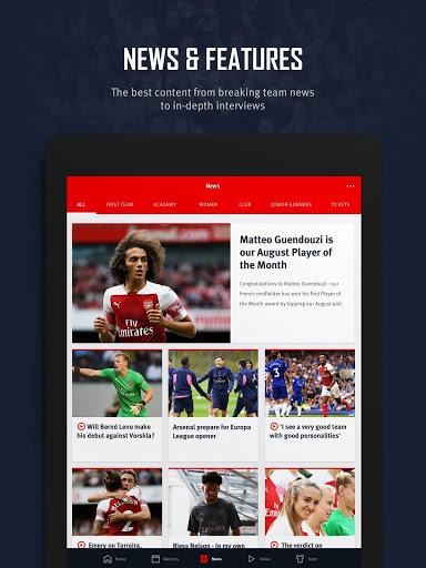 Arsenal Official App v screenshots 9