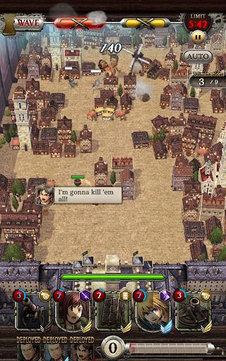 Attack on Titan TACTICS v1.10.02 screenshots 9