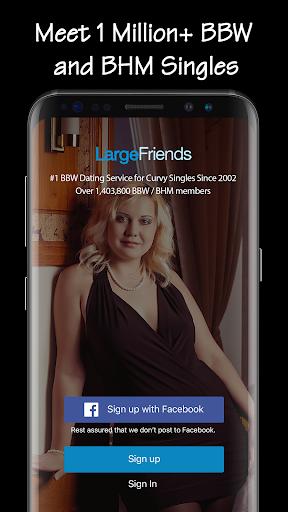 BBW Dating amp Curvy Singles Chat- LargeFriends v5.4.1 screenshots 1