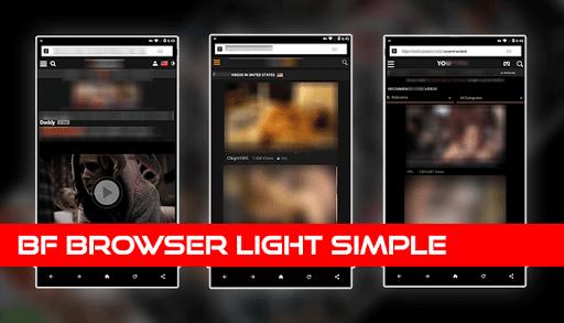 BF Browser Light Simple v screenshots 1