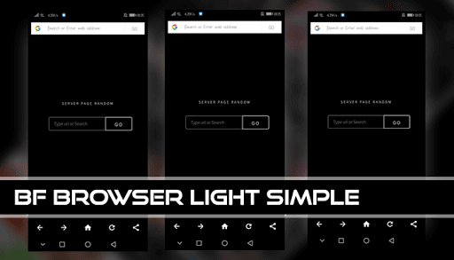 BF Browser Light Simple v screenshots 2