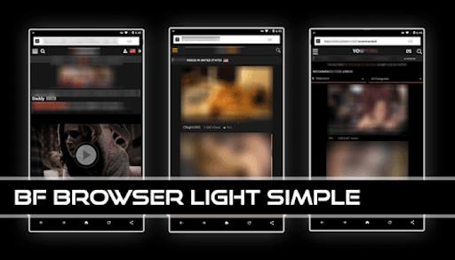 BF Browser Light Simple v screenshots 4