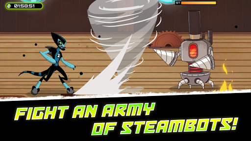 Ben 10 – Omnitrix Hero Aliens vs Robots v1.0.6 screenshots 2