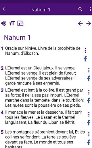 Bible en franais courant v1.0 screenshots 14