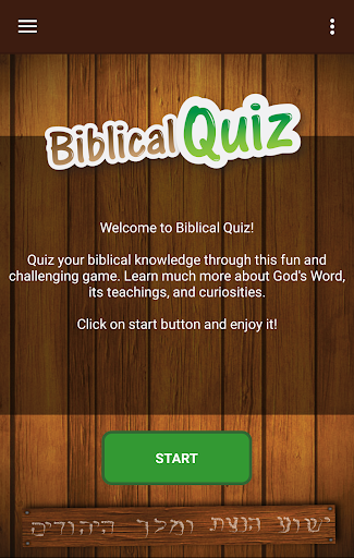 Biblical Quiz v2.01.300 screenshots 1