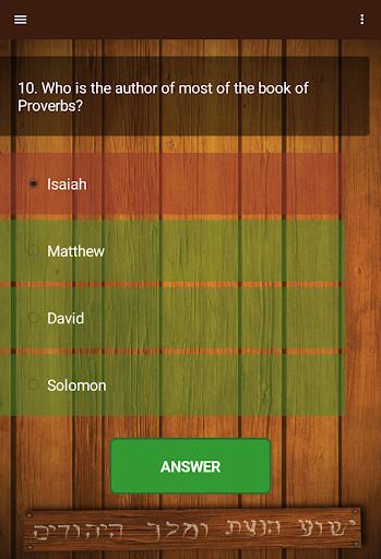 Biblical Quiz v2.01.300 screenshots 5