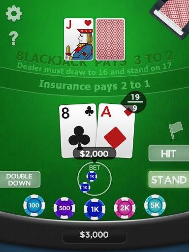 Blackjack 21 v1.8.2 screenshots 8