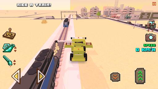 Blocky Farm Racing amp Simulator – free driving game v1.41 screenshots 7