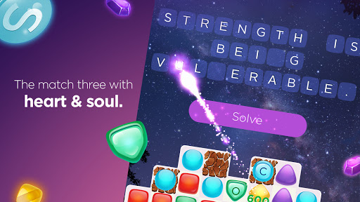 Bold Moves Match 3 Word Game v2.12 screenshots 13